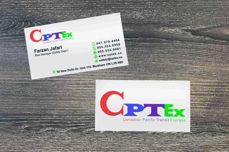 CPTEX Business Cards