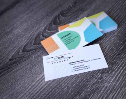Dream Home Designer Business Cards
